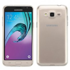 Samsung Galaxy J3 Glossy Transparent Clear Candy Skin Cover