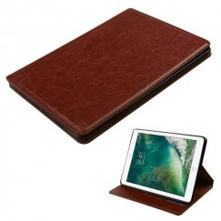 AppleiPad iPad 9.7 2017 Brown Wallet with Tray