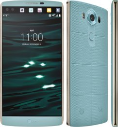 LG V10 64GB H900 Android Smartphone - Cricket Wireless - Opal Blue