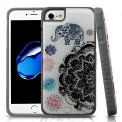 Lucky Elephant Mandala Gel/Iron Gray Fusion Protector Cover