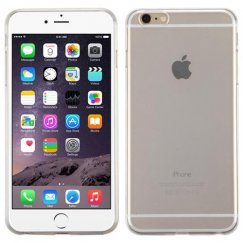 Apple iPhone 6/6s Plus Glossy Transparent Clear Candy Skin Cover