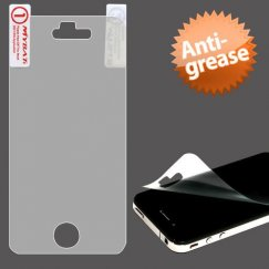 Apple iPhone 4/4s Anti-grease LCD Screen Protector/Clear