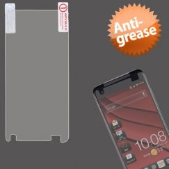 HTC Droid DNA Anti-grease LCD Screen Protector/Clear