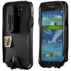 Samsung Galaxy Note II Turtleback Executive Leather Case with Plastic Clip
