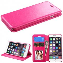 Apple iPhone 6 Plus Hot Pink Wallet with Tray