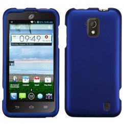 ZTE Solar Titanium Solid Dark Blue Case