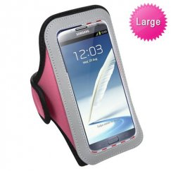 Vertical Pouch Universal Pink Sport Armband