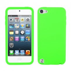 Apple iPod Touch (5th Generation) Solid Skin Cover - Electric Green