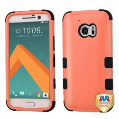 HTC 10 Natural Orange/Black Hybrid Case