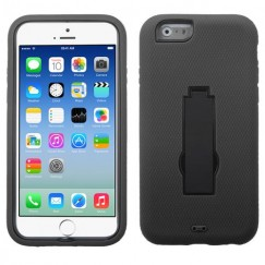 Apple iPhone 6/6s Black/Black Symbiosis Stand Case