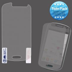 Samsung Galaxy Exhibit Screen Protector Twin Pack