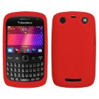 Blackberry 9360 Curve Solid Skin Cover (Red)