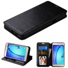 Samsung Galaxy On5 Black Wallet(with Tray)