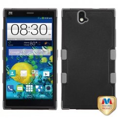 ZTE Grand X Max / Grand X Max Plus Natural Black/Iron Gray Hybrid Case