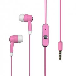 Pink Stereo Handsfree