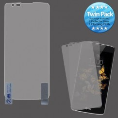 LG K8 / Phoenix 2 Screen Protector Twin Pack- Strong Adhesion & Ultra-thin