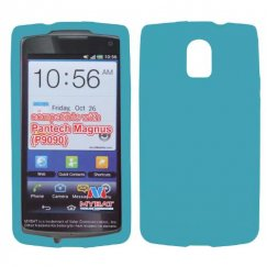 Pantech Discover Solid Skin Cover - Tropical Teal