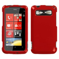 HTC Trophy Solid Flaming Red Case
