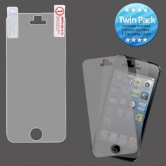 Apple iPhone 5/5s Screen Protector Twin Pack