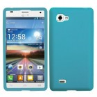 LG Optimus 4X HD Solid Skin Cover (Tropical Teal)
