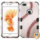 Apple iPhone 7 Plus Baseball-Sports Collection/Black Hybrid Case