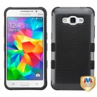 Samsung Galaxy Grand Prime Carbon Fiber/Black Hybrid Case