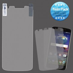 ZTE Grand X 3 / Warp 7 Screen Protector Twin Pack