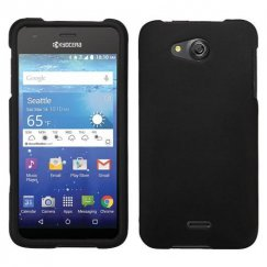 Kyocera Wave / Hydro Air Black Case - Rubberized