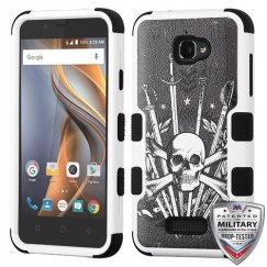 Coolpad Catalyst Sword & Skull/Black Hybrid Case