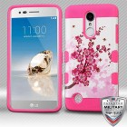 Spring Flowers/Electric Pink Hybrid Protector Cover [Military-Grade Certified]