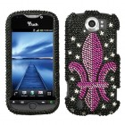 HTC myTouch 4G Slide Royal Seal Diamante Phone Protector Cover