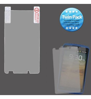 Alcatel Authority / Ultra Screen Protector Twin Pack