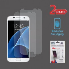 Samsung Galaxy S7 Anti-grease LCD Screen Protector - Clear - 2-pack