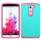 LG G3 Stylus Teal Green/Hot Pink Astronoot Phone Protector Cover