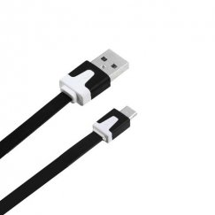 Black Noodle Data Cable