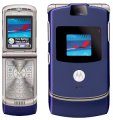 Motorola RAZR V3 Flip Camera Bluetooth Blue Phone AT&T