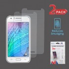 Samsung Galaxy J7 Anti-grease LCD Screen Protector - Clear - 2-pack