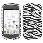 Samsung Galaxy Exhibit Zebra Skin Phone Protector Cover