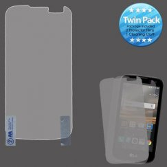 LG K3 Screen Protector Twin Pack