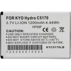 Kyocera Hydro, Rise Standard 1200mAh Lithium Ion Battery