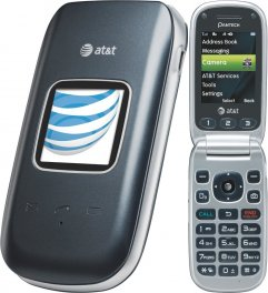 Pantech Breeze III P2030 Flip Phone - ATT Wireless - Gray