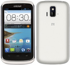 ZTE Sonata Z740G Android Smartphone for Cricket Wireless - White