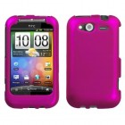 HTC Wildfire S Titanium Solid Hot Pink Case
