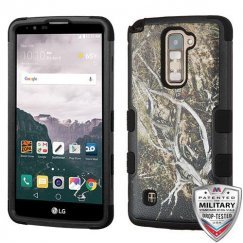LG LG G Stylo 2 Plus Yellow/Black Vine/Black Hybrid Case