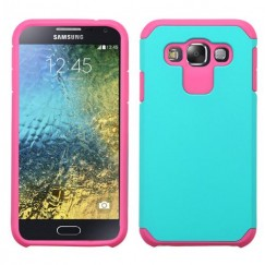 Samsung Galaxy E5 Teal Green/Hot Pink Astronoot Case