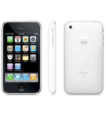 Apple iPhone 3G Bluetooth Wifi 16GB White Phone ATT