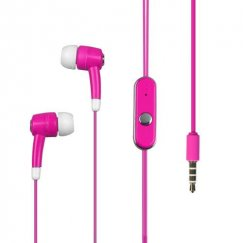Hot Pink Stereo Handsfree