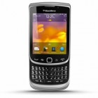 Blackberry Torch 9810 3G Phone with Bluetooth and WiFi - ATT Wireless - Silver