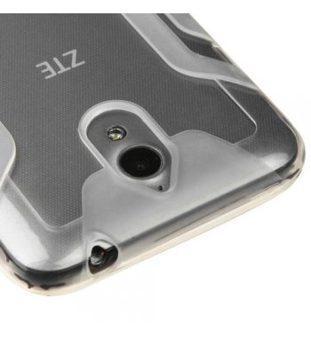 ZTE Obsidian Transparent Clear Mars Candy Skin Cover