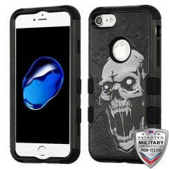 Vampire/Black Hybrid Phone Protector Cover [Military-Grade Certified]